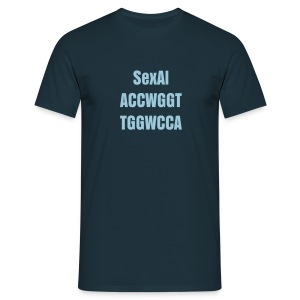 Sexal ACCWGGT TGGWCCA - Men's T-Shirt
