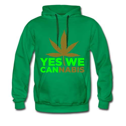 Cannabis /Version Obama  - Sweat-shirt à capuche Premium pour hommes