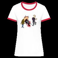 T-shirts ~ Kontrast-T-shirt dam ~ Artikelnummer 14729171
