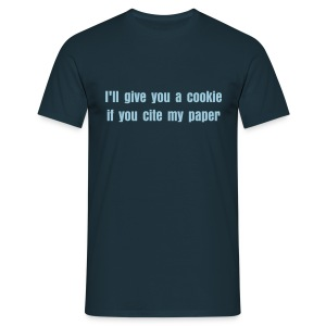 I'll give you a cookie if you  cite my paper - Men's T-Shirt