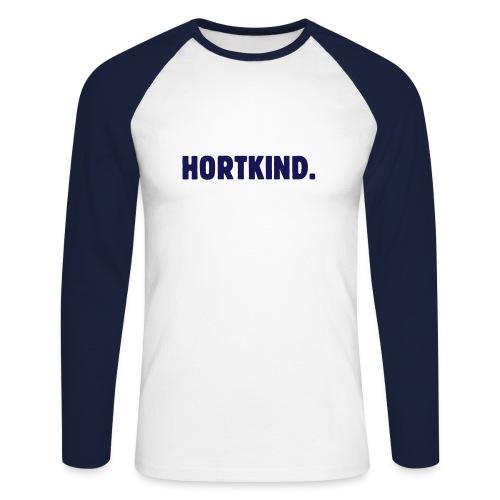 Hortkind Langarm Shirt - Männer Baseballshirt langarm