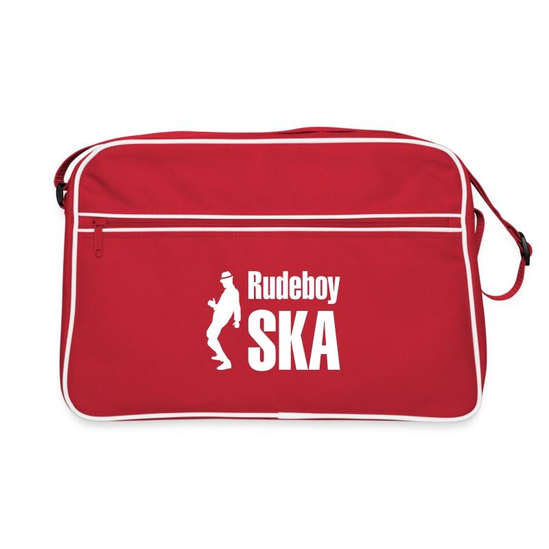 rote Retro-Tasche  Rudeboy Ska - Retro Tasche