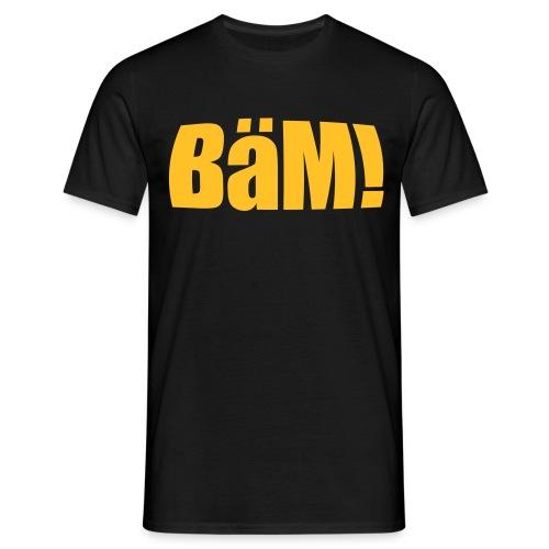 BäM! T-Shirt (bedruckte Vorder- und Rückseite) - Männer T-Shirt