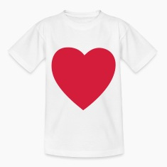 heart valentines day Kids' Shirts