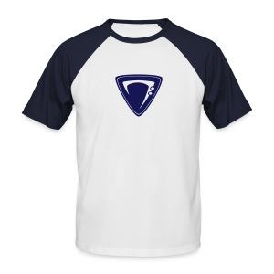 Bassic Shirt navy/white - Männer Baseball-T-Shirt