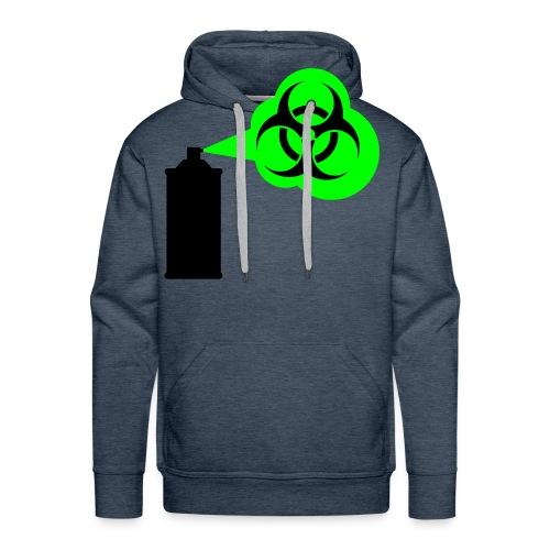 graviti spray 1 (neongreen) - Männer Premium Hoodie