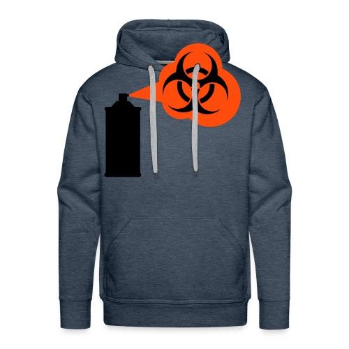 graviti spray 1 (orange) - Männer Premium Hoodie