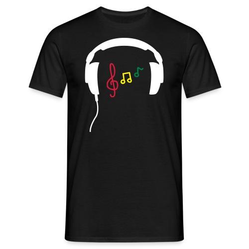 Casque Notes - T-shirt Homme