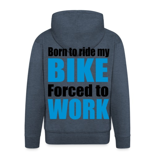 BMX Hood - Rozpinana bluza męska z kapturem Premium