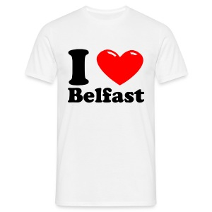 I heart Belfast - Men's T-Shirt