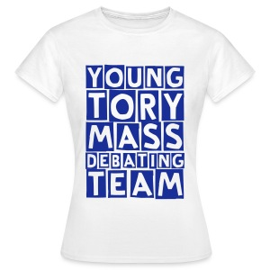 mass debate (F) - Women's T-Shirt