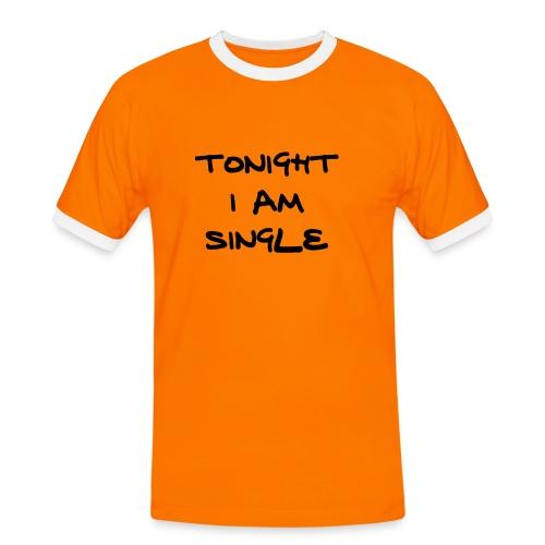 single/men2 - Männer Kontrast-T-Shirt