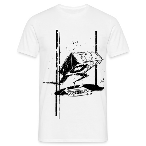 Smash TV SUB CULT Design - Men's T-Shirt