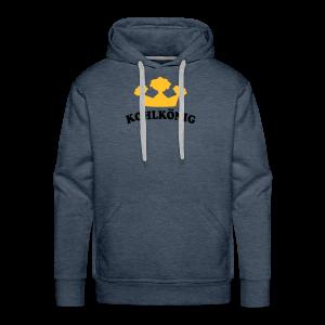 kohlkönig |  kapuzenpullover (hoodie) | für grünkohl und kohlfahrt - Männer Premium Hoodie