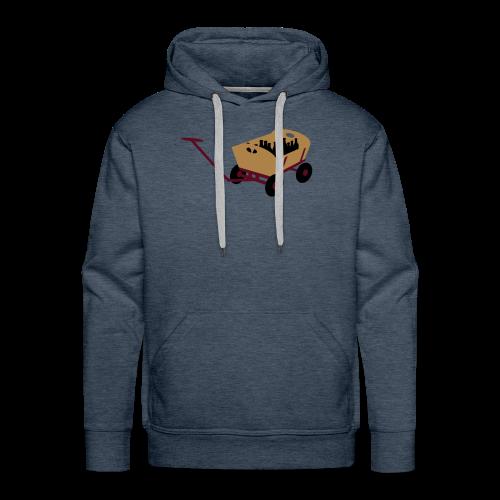 bollerwagen | kapuzenpullover (hoodie) | für grünkohl und kohlfahrt - Männer Premium Hoodie