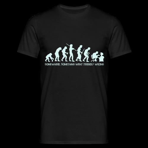 wrong evolution - Men's T-Shirt