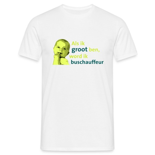Als ik groot ben (mannen) - Mannen T-shirt