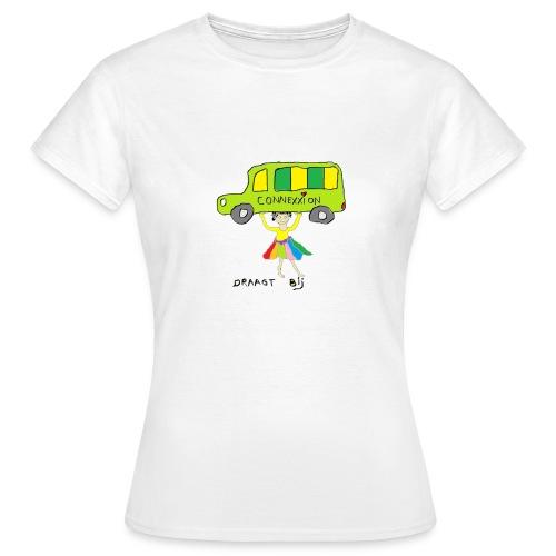 Connexxion draagt bij (dames) - Vrouwen T-shirt