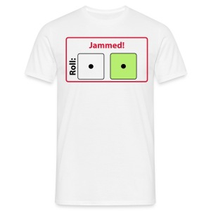 CC Jammed! T-shirt (white) - Men's T-Shirt