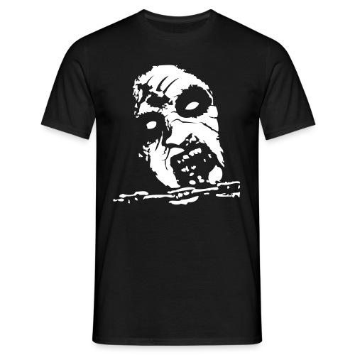 Cara zombie - Camiseta hombre