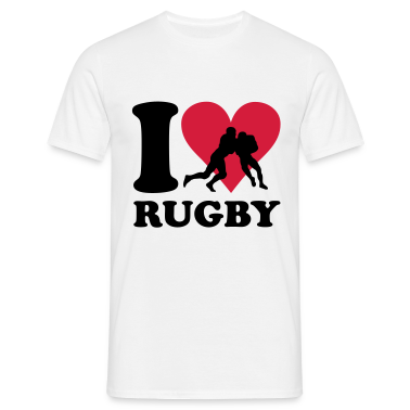 I love Rugby T-Shirts