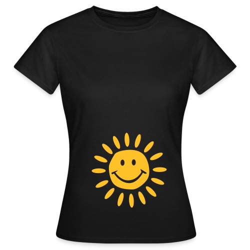 Sunshine classic black, schwarz - Women's T-Shirt