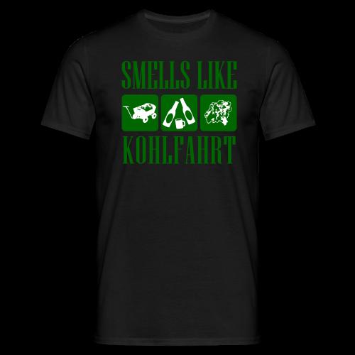 smells like kohlfahrt | herren t-shirt | für grünkohl und kohlfahrt - Männer T-Shirt