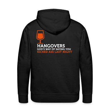 Hangovers Kick Ass 3 (2c) Hoodies & Sweatshirts