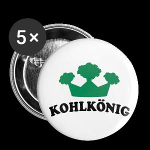 kohlkönig   button (56 mm)   für grünkohl und kohlfahrt - Buttons groß 56 mm
