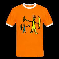 T-Shirts ~ Men's Ringer Shirt ~ Two Funny Trolls Shirt