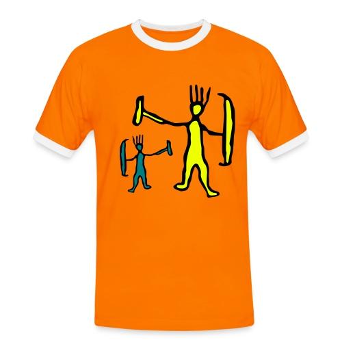 Two Funny Trolls Shirt - Men's Ringer Shirt