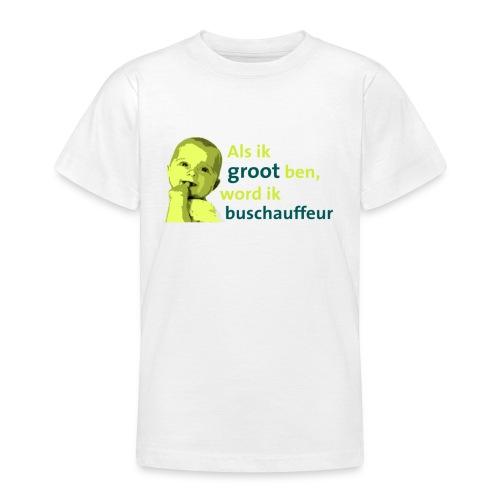 Als ik groot ben kinder shirtje - Teenager T-shirt