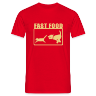 T-shirts ~ Mannen T-shirt ~ Fast Food