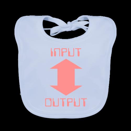 lätzchen input-output - Baby Bio-Lätzchen