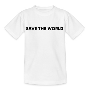 SAVE THE WORLD - Teenage T-shirt