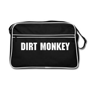 Dirt Monkey Old Skool Bag - Retro Bag