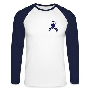 backside - Männer Baseballshirt langarm