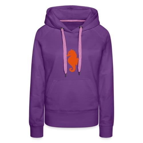 Seepferdchen-Kapuzenpulli - Frauen Premium Hoodie