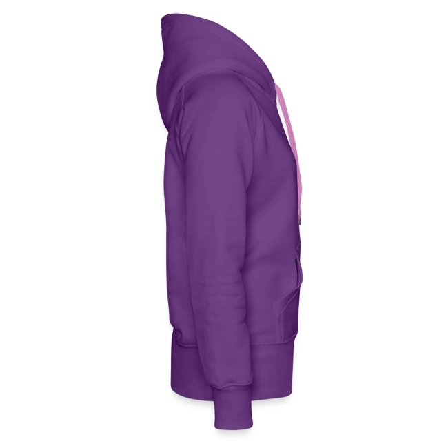 CUTE RIBBON hoodie purple