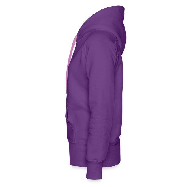 CUTE RIBBON hoodie purple