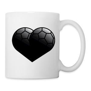 Tasse Handballherz - Tasse
