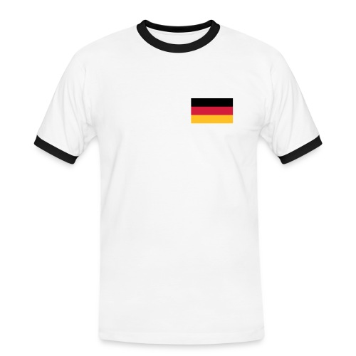 Weltmeister 2014 - Männer Kontrast-T-Shirt