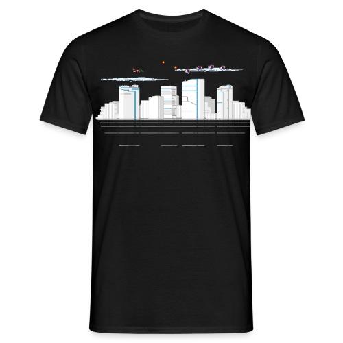 Männer T-Shirt klassisch Skyline - Männer T-Shirt
