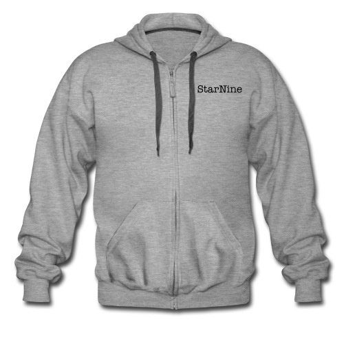 StarNine cotton zip up hoodie - Men's Premium Hooded Jacket