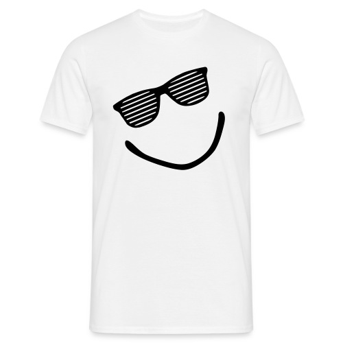 Shuttershade smile - Mannen T-shirt
