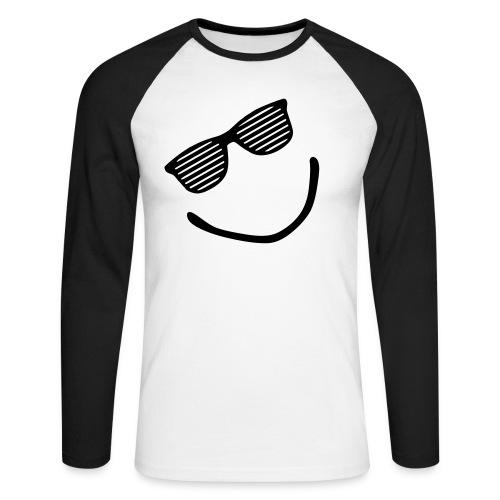 Shuttershade smile - Mannen baseballshirt lange mouw