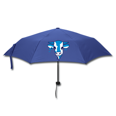 The head of a cow  Umbrellas