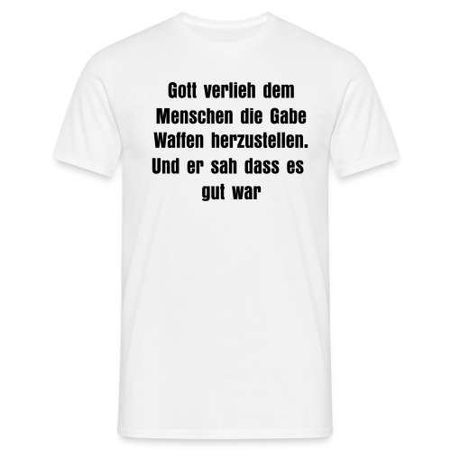 different colors available - Männer T-Shirt