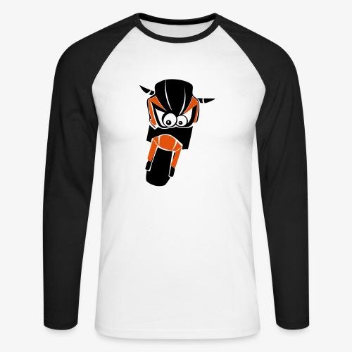 Z750 / Z1000 (zweifarbig) - Männer Baseballshirt langarm