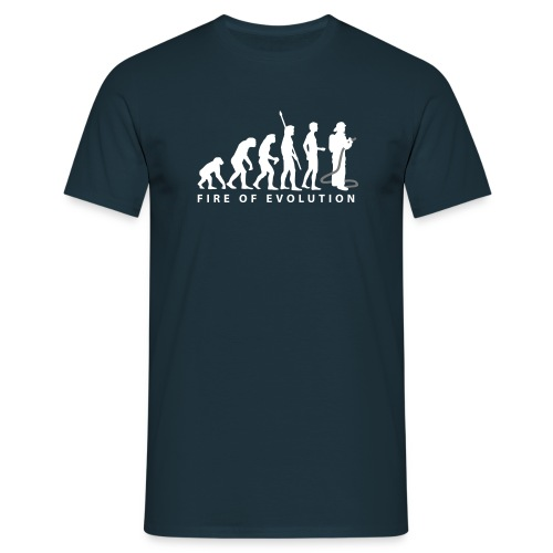 Fire-Man - Männer T-Shirt